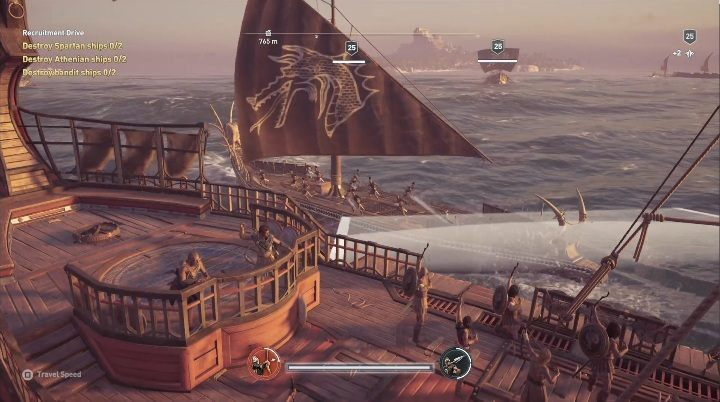 Description: Upon starting this quest, you have to paint your ship using Keos colors and set off to hunt - Side Quests in Pirate Islands in Assassins Creed Odyssey - Side Quests - Assassins Creed Odyssey Guide