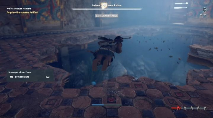 Description: The woman will tell you where you have to look for the crate - Side Quests in Pirate Islands in Assassins Creed Odyssey - Side Quests - Assassins Creed Odyssey Guide