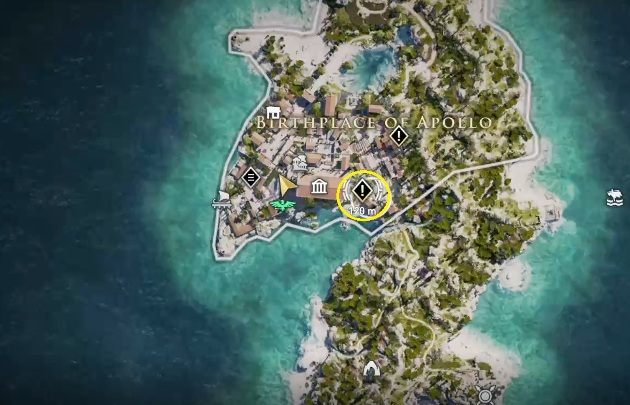 How to start: Speak with Sokrates - Side Quests on Silver Islands in Assassins Creed Odyssey - Side Quests - Assassins Creed Odyssey Guide