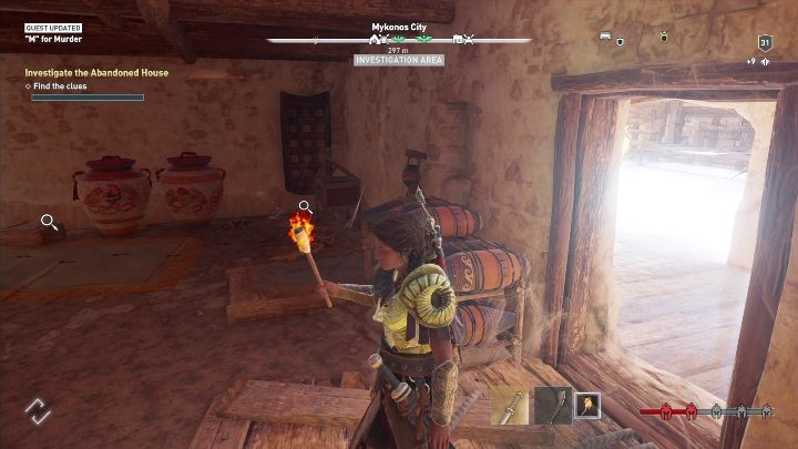 Description: Head to the Abandoned House - Side Quests on Silver Islands in Assassins Creed Odyssey - Side Quests - Assassins Creed Odyssey Guide