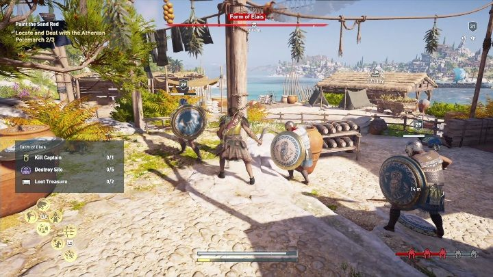 Description: You have to visit 3 places and kill 2 enemies - Side Quests on Silver Islands in Assassins Creed Odyssey - Side Quests - Assassins Creed Odyssey Guide