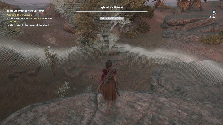 How to start: Speak with the man - Side Quests on Kythera Island in Assassins Creed Odyssey - Side Quests - Assassins Creed Odyssey Guide
