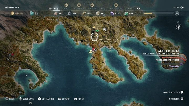 1 - Order of Hunters - assassinations in the Legacy of the first blade DLC - Order of the Ancients - Assassins Creed Odyssey Guide