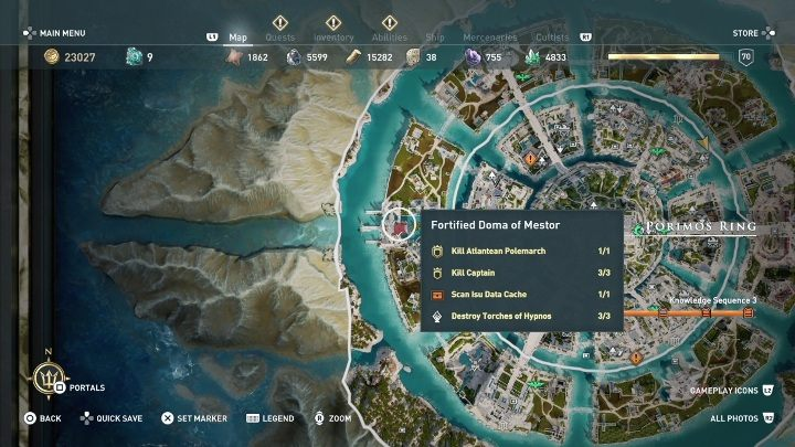 Rightfully Yours Fate Of Atlantis Walkthrough Assassin S Creed