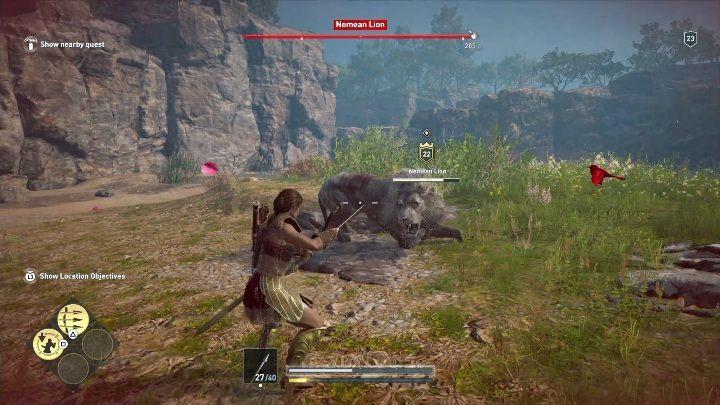 Описание: Лев является вторым из легендарных зверей, с которыми вы сталкиваетесь при пересечении карты в Assassins Creed: Odyssey - The Nemean Lion (Argolis) - Охота на семью зверей в Assassins Creed Odyssey - Охота на семью зверей - Assassins Creed Odyssey Guide