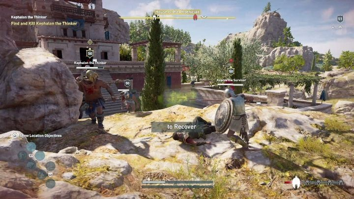 This enemy is also near the House of the Phoenician - Episode 2 | Side Quests in Legacy of the First Blade DLC - Side Quests - Assassins Creed Odyssey Guide