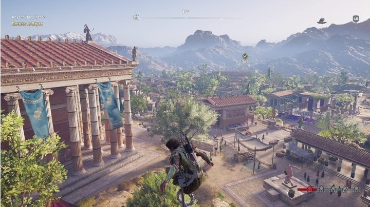 1 - Elis Map - tombs, ostracons, documents, secrets - World Atlas - Assassins Creed Odyssey Guide