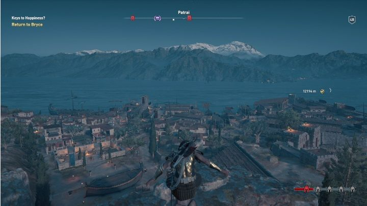 1 - Achaia - tombs, ostracons, documents, secrets - World Atlas - Assassins Creed Odyssey Guide
