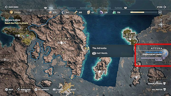 Every region is controlled either by Athens or Sparta - Conquest in Assassins Creed Odyssey Game - Tips - Assassins Creed Odyssey Guide