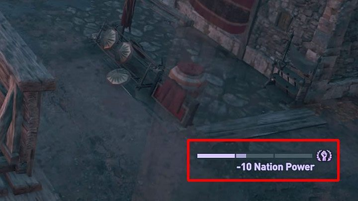 Regions are fortified by default which means that their Nation Power is high - Conquest in Assassins Creed Odyssey Game - Tips - Assassins Creed Odyssey Guide