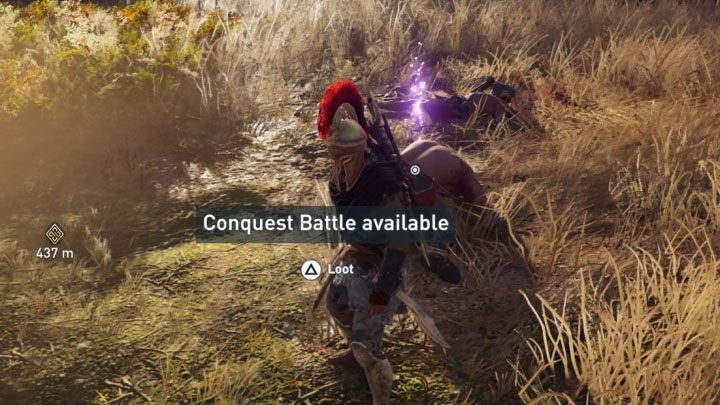 Keep completing the aforementioned actions until you receive a message informing you that a Nation Power has been sufficiently weakened - Conquest in Assassins Creed Odyssey Game - Tips - Assassins Creed Odyssey Guide