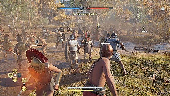 Start a Conquest battle by speaking with one of the commanders marked on the map - Conquest in Assassins Creed Odyssey Game - Tips - Assassins Creed Odyssey Guide