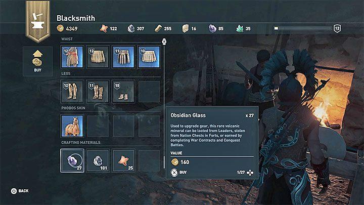 Другой общий способ получить ресурсы - купить их у кузнеца. Как получить материалы для обработки в Assassins Creed Odyssey Game?  - Часто задаваемые вопросы - Assassins Creed Odyssey Game Guide