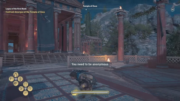 Your first objective is to go to the Temple of Zeus - Legacy of the First Blade - Assassins Creed Odyssey Walkthrough - Episode 3 - Bloodline - Assassins Creed Odyssey Guide