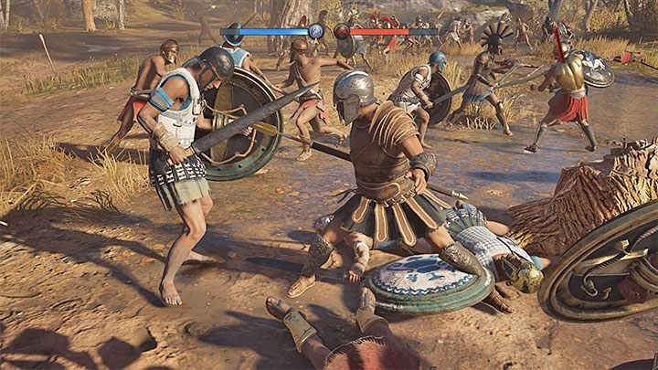 To unlock a Conquest battle you need to weaken the nation that is currently ruling a given region - How to get XP fast - leveling guide to Assassins Creed Odyssey - FAQ - Assassins Creed Odyssey Guide