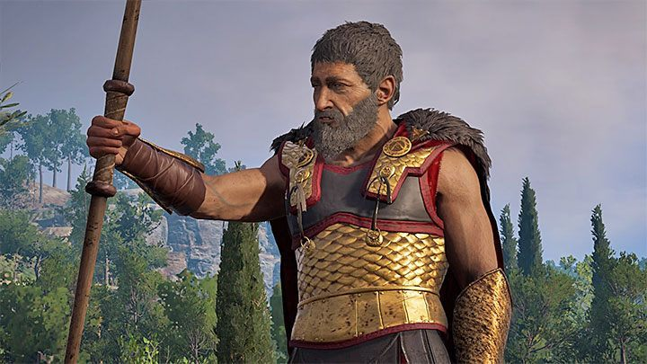 The first meeting with Nikolaos takes place during the second chapter (episode) of the main plot of the game - Where to find Nikolaos in Assassins Creed Odyssey? - FAQ - Assassins Creed Odyssey Guide