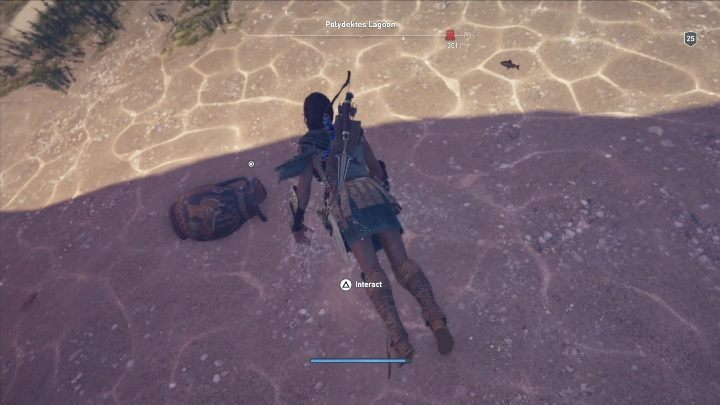 Ostraka riddle solution: Go to Polydektes Lagoo and dive at the indicated spot - Ainigmata Ostraka in Pirate Islands in Assassins Creed Odyssey - Ainigmata Ostraka - Assassins Creed Odyssey Guide