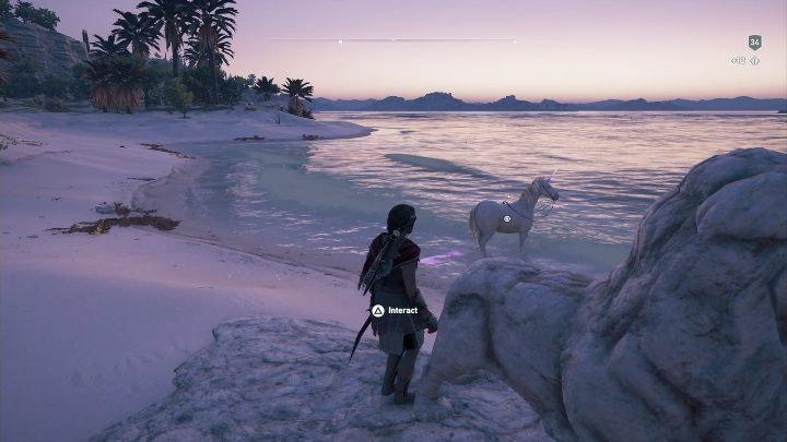 Puzzle solution: Reach the end of Keso and search for the monument depicting a lion - Ainigmata Ostraka in Pirate Islands in Assassins Creed Odyssey - Ainigmata Ostraka - Assassins Creed Odyssey Guide