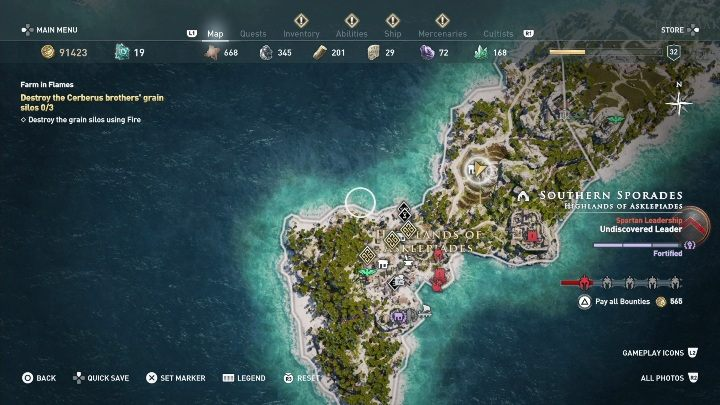 How to start: Speak with Markos after Old Friends, Old Problems quest - Side Quests on Southern Sporades in Assassins Creed Odyssey - Side Quests - Assassins Creed Odyssey Guide