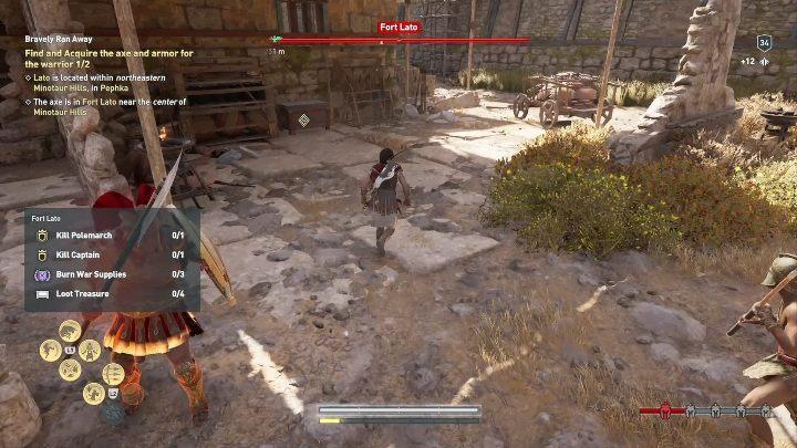assassins creed odyssey pephka arena location
