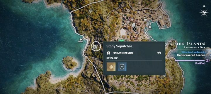 Location of the tomb: Central part of the Chios island - Petrified Islands - Tombs in Assassins Creed Odyssey - Tombs - Assassins Creed Odyssey Guide