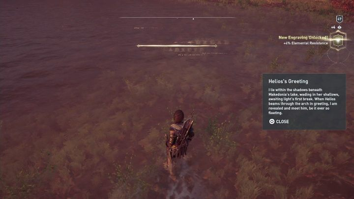 Solving the puzzle: Lake located in the western part of Makedonia - Ainigmata Ostraka on Makedonia in Assassins Creed Odyssey - Ainigmata Ostraka - Assassins Creed Odyssey Guide