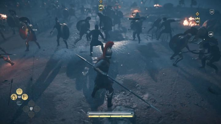 Your unit was attacked by a Persian army - Prologue - Assassins Creed Odyssey Walkthrough - Main Storyline - Assassins Creed Odyssey Guide