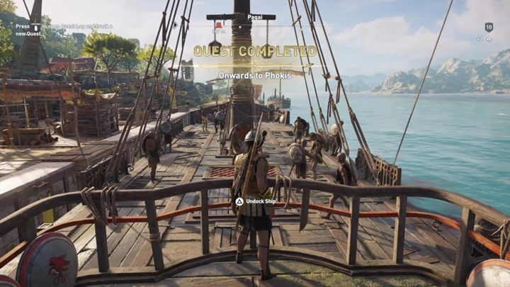 The quest takes place as soon as you make a decision about Nikolaos - The Wolf and the Snake - Assassins Creed Odyssey Walkthrough - Main Storyline - Assassins Creed Odyssey Guide