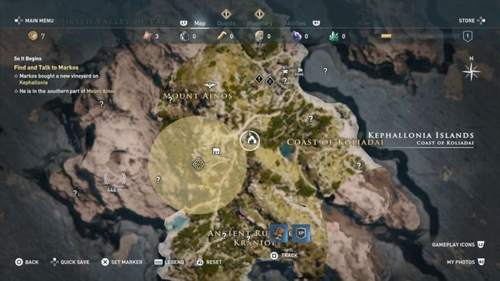 Mission start: Enter the Drogarati cave; talk to the inhabitant - Kephallonia Islands - Side Quests in Assassins Creed Odyssey - Side Quests - Assassins Creed Odyssey Guide