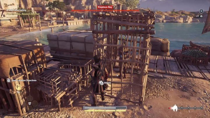 Mission start: Pronnoi Peninsula, near the gulf - Kephallonia Islands - Side Quests in Assassins Creed Odyssey - Side Quests - Assassins Creed Odyssey Guide