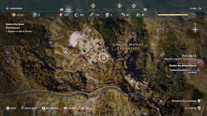 4 - Phokis - Side Quests in Assassins Creed Odyssey - Side Quests - Assassins Creed Odyssey Guide
