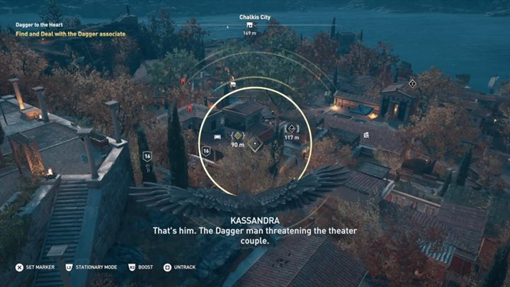 Description: Go to the theatre and talk with the couple - Abantis Islands - Side Quests in Assassins Creed Odyssey - Side Quests - Assassins Creed Odyssey Guide