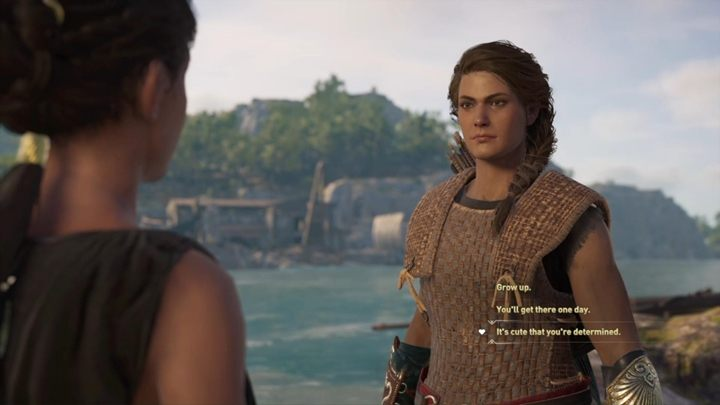 During this quest you will come across Odessa who is locked in a cage - Important choices in Chapter 1 of Assassins Creed Odyssey - Important choices - Assassins Creed Odyssey Guide