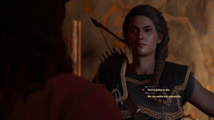 This choice is heavily ethical - Important choices in Chapter 2 of Assassins Creed Odyssey - Important choices - Assassins Creed Odyssey Guide