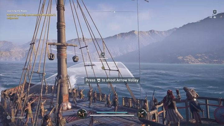 You are now a ships captain - The Wolf Hunt - Assassins Creed Odyssey Walkthrough - Main Storyline - Assassins Creed Odyssey Guide