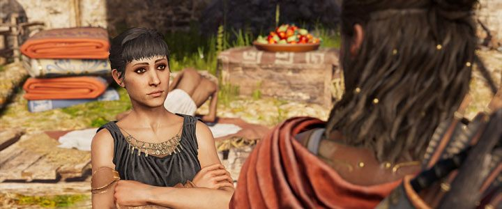 Odessa is one of the available love interests in Assassins Creed: Odyssey - Odessa - Romances in Assassins Creed Odyssey - Romances - Assassins Creed Odyssey Guide