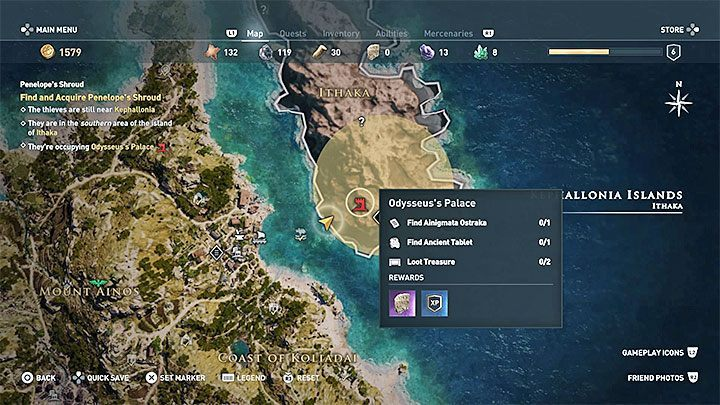 Odessa can be found in the first main location - Kephallonia - Odessa - Romances in Assassins Creed Odyssey - Romances - Assassins Creed Odyssey Guide
