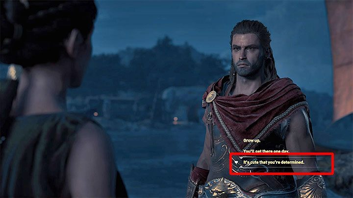 Rescuing her starts A Small Odyssey side quest - Odessa - Romances in Assassins Creed Odyssey - Romances - Assassins Creed Odyssey Guide