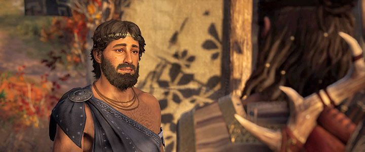 Lykaon is a young man you can encounter in Assassins Creed: Odyssey, who is a healer - Lykaon - Romances in Assassins Creed Odyssey - Romances - Assassins Creed Odyssey Guide