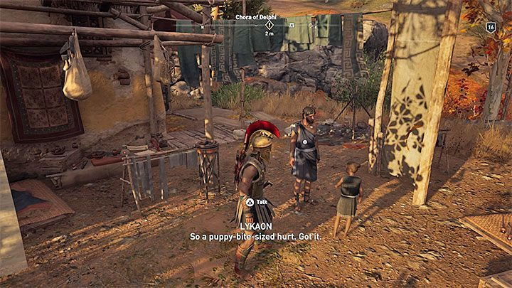 1 - Lykaon - Romances in Assassins Creed Odyssey - Romances - Assassins Creed Odyssey Guide