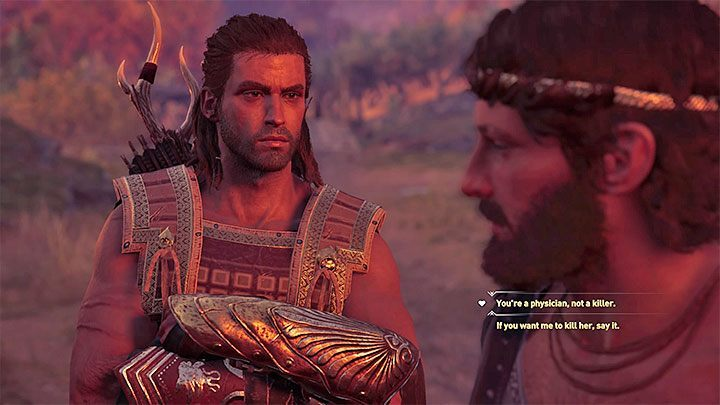 You have to complete three sidequests assigned by Lykaon - Lykaon - Romances in Assassins Creed Odyssey - Romances - Assassins Creed Odyssey Guide