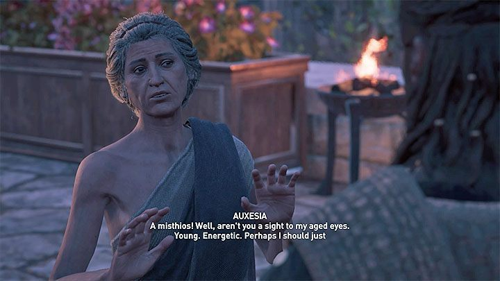 1 - Auxesia - Romances in Assassins Creed Odyssey - Romances - Assassins Creed Odyssey Guide