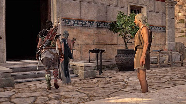 Collect all ingredients and return to Auxesia - Auxesia - Romances in Assassins Creed Odyssey - Romances - Assassins Creed Odyssey Guide