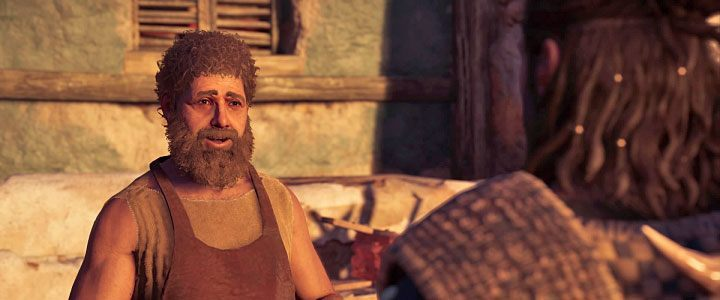 Kosta is a blacksmith living on Lokris Island in Assassins Creed: Odyssey - Kosta - Romances in Assassins Creed Odyssey - Romances - Assassins Creed Odyssey Guide