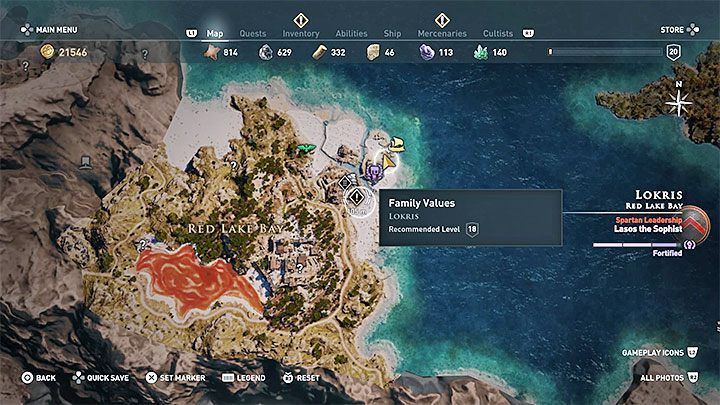 Once you arrive on Lokris Island, you wont find a blacksmiths marker anywhere on the island - Kosta - Romances in Assassins Creed Odyssey - Romances - Assassins Creed Odyssey Guide