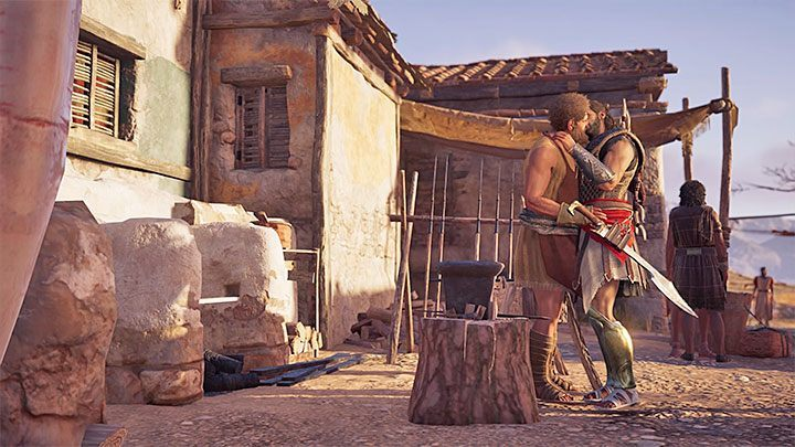 Return with flowers to Kosta - Kosta - Romances in Assassins Creed Odyssey - Romances - Assassins Creed Odyssey Guide