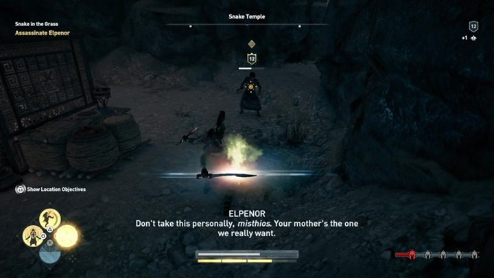 The murder of Elpenor is in fact a prelude to the whole mechanics of finding and killing the cultists of Kosmos - The Eyes of Kosmos - Kosmos Cultists in Assassins Creed Odyssey - Kosmos Cultists - Assassins Creed Odyssey Guide