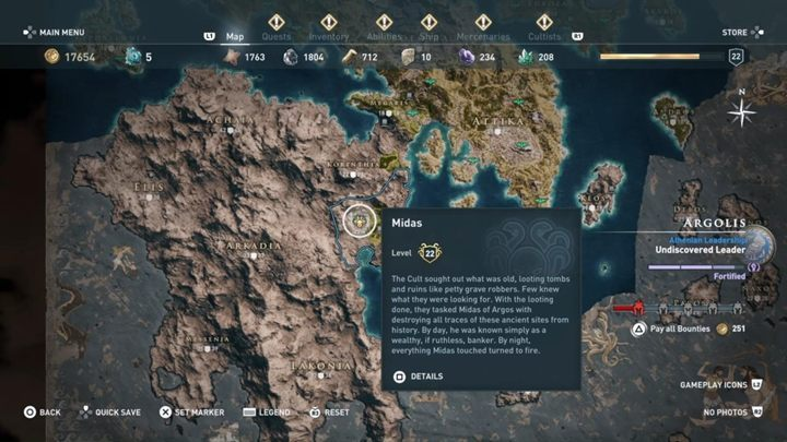4 - The Eyes of Kosmos - Kosmos Cultists in Assassins Creed Odyssey - Kosmos Cultists - Assassins Creed Odyssey Guide