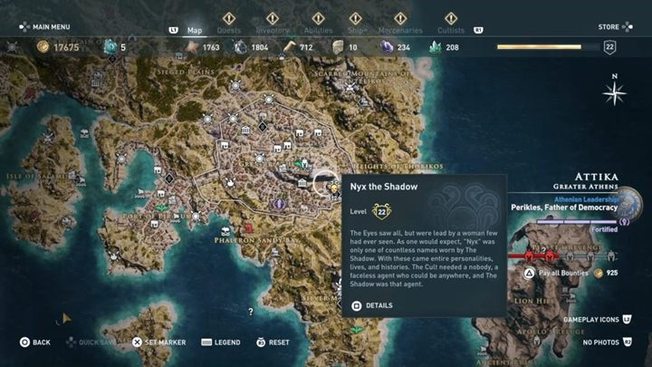6 - The Eyes of Kosmos - Kosmos Cultists in Assassins Creed Odyssey - Kosmos Cultists - Assassins Creed Odyssey Guide
