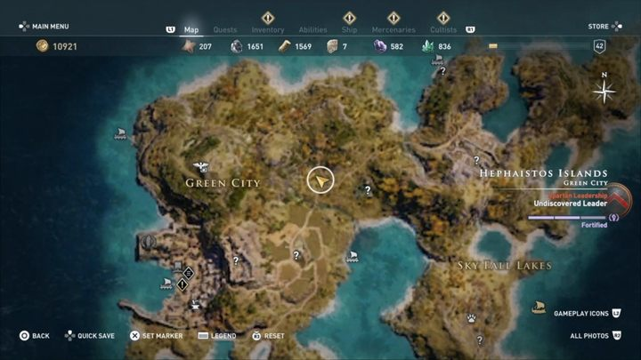 1 - Delian League Cultists - Kosmos Cultists in Assassins Creed Odyssey - Kosmos Cultists - Assassins Creed Odyssey Guide